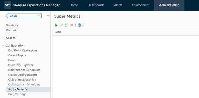 vrops super metrics