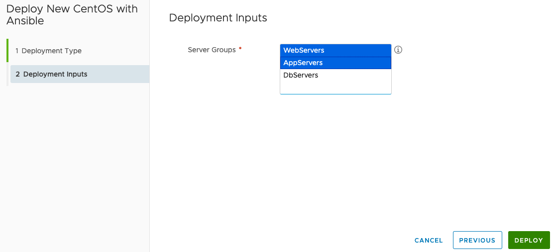 Integrating and Using Ansible with VMware Cloud Assembly